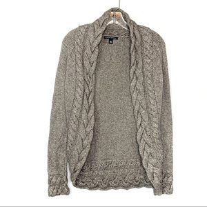 Banana Republic Grey Cardigan Sweater Size XS